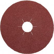 Schleiffiberscheibe Stahl, NE-Metalle u. Metall, Ø 125 mm