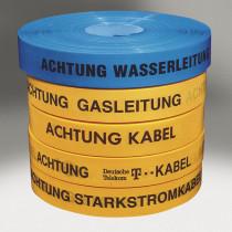 """Trassenband """"Achtung Wasserleitung"""""""