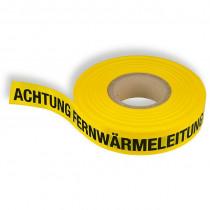 """Trassenband """"Achtung Fernwärmeleitung"""""""